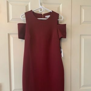 Calvin Klein Cold Shoulder Dress- NEW with Tag.